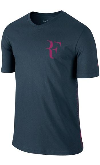 b106317b Теннисная футболка Nike Roger SS V-Neck Выгодно в KVADRATIK