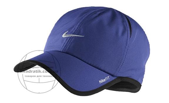 3444724e Кепка Nike Dri-FIT Mens Feather Light Dark Blue Выгодно в KVADRATIK