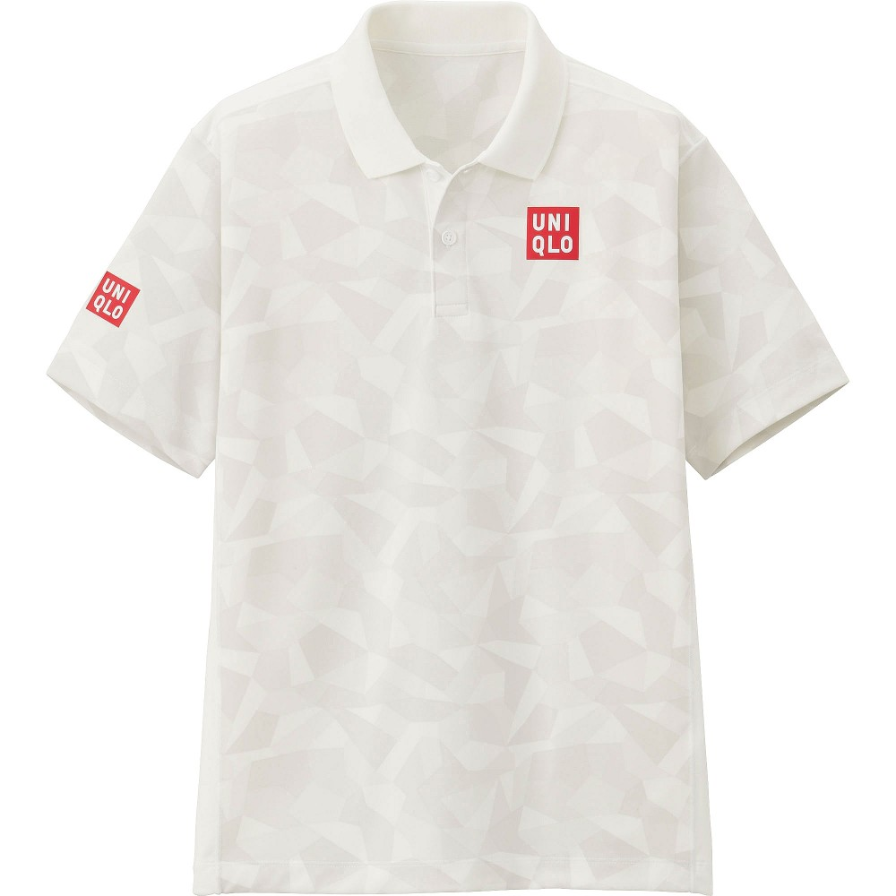 Теннисная футболка UNIQLO NK Dry EX Short Sleeve Polo Shirt 16 US