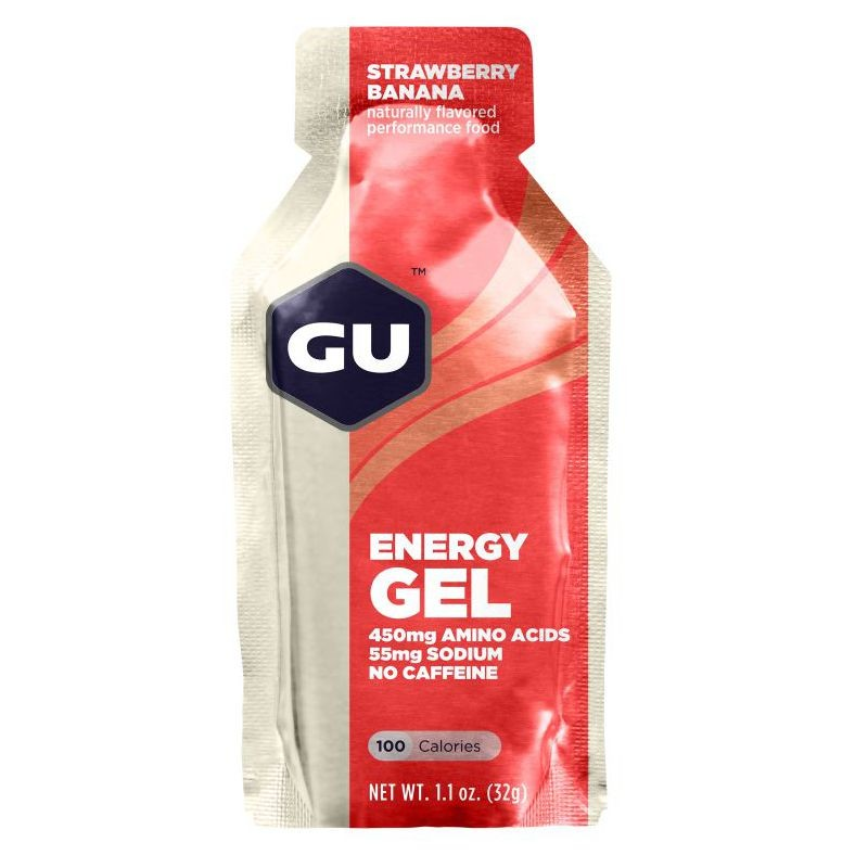 Энергетический гель GU Strawberry Banana (12шт)