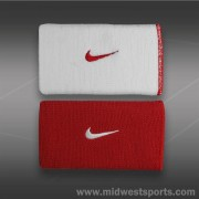 Напульсники Nike Dri Fit Home and Away Doublewide Wristband