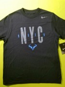 Футболка детская Nike Junior NYC Vamos Rafa Black XS