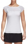 Adidas Women`s Advantage Tennis Tee White (M)